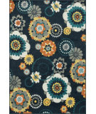 RugStudio presents Loloi Catalina CF-06 Navy / Multi Machine Woven, Better Quality Area Rug