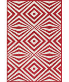 RugStudio presents Loloi Catalina Hcathcf04reiv Red / Ivory Machine Woven, Good Quality Area Rug