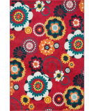 RugStudio presents Loloi Catalina Hcathcf06reml Red / Multi Machine Woven, Good Quality Area Rug