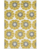 RugStudio presents Loloi Catalina CF-08 Citron / Multi Machine Woven, Good Quality Area Rug
