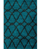 RugStudio presents Loloi Cosma Cosmhco01bbcc Blue / Charcoal Machine Woven, Good Quality Area Rug