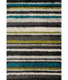 RugStudio presents Loloi Cosma CO-03 Green / Multi Machine Woven, Good Quality Area Rug