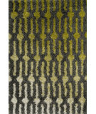 RugStudio presents Loloi Cosma CO-04 Green / Grey Machine Woven, Good Quality Area Rug
