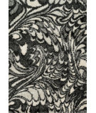 RugStudio presents Loloi Cosma CO-05 Charcoal / Ivory Machine Woven, Good Quality Area Rug