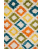 RugStudio presents Loloi Cosma CO-06 Ivory / Multi Machine Woven, Good Quality Area Rug