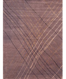 RugStudio presents Rugstudio Sample Sale 54053R Plum Hand-Knotted, Good Quality Area Rug