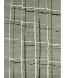 RugStudio presents Loloi Hermitage He-11 Silver / Black Hand-Knotted, Good Quality Area Rug