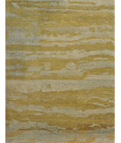 RugStudio presents Loloi Hermitage HE-12 Seafoam - Green Hand-Knotted, Good Quality Area Rug