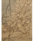 RugStudio presents Loloi Hermitage HE-13 Beige - Ash Hand-Knotted, Good Quality Area Rug