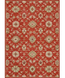 RugStudio presents Loloi Fairfield Fairhff03 Persimmon Hand-Tufted, Good Quality Area Rug