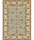 RugStudio presents Loloi Fairfield Fairhff10 Turquoise / Ivory Hand-Tufted, Good Quality Area Rug