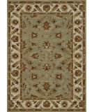 RugStudio presents Loloi Fairfield Fairhff12 Seafoam Green / Cream Hand-Tufted, Good Quality Area Rug