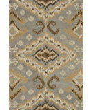 RugStudio presents Loloi Fairfield Fairhff14 Slate / Gold Hand-Tufted, Good Quality Area Rug