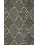 RugStudio presents Loloi Fairfield Fairhff16 Blue / Multi Hand-Tufted, Good Quality Area Rug