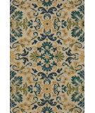 RugStudio presents Loloi Fairfield Fairhff17 Blue / Teal Hand-Tufted, Good Quality Area Rug