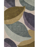 RugStudio presents Loloi Flora FL-02 Ivory / Green Woven Area Rug