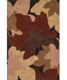 RugStudio presents Loloi Flora Florhfl03brbe Brown / Beige Woven Area Rug