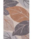 RugStudio presents Loloi Flora FL-05 Ivory / Grey Woven Area Rug