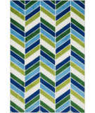 RugStudio presents Loloi Gracie GE-01 Ivory / Blue Woven Area Rug