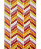 RugStudio presents Loloi Gracie GE-01 Ivory / Pink Woven Area Rug