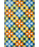 RugStudio presents Loloi Gracie GE-05 Blue / Multi Machine Woven, Good Quality Area Rug