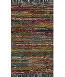 RugStudio presents Loloi Gillian GI-01 Black Woven Area Rug