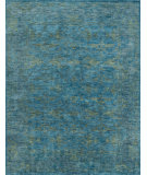 RugStudio presents Loloi Highgate Hi-05 Blue - Lagoon Hand-Knotted, Best Quality Area Rug