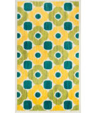 RugStudio presents Loloi Isabelle IS-02 Green / Multi Machine Woven, Good Quality Area Rug