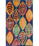 RugStudio presents Loloi Isabelle IS-04 Blue / Multi Machine Woven, Good Quality Area Rug