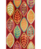 RugStudio presents Loloi Isabelle IS-04 Red / Multi Machine Woven, Good Quality Area Rug