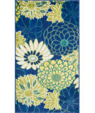 RugStudio presents Loloi Isabelle IS-05 Blue / Multi Machine Woven, Good Quality Area Rug