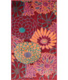 RugStudio presents Loloi Isabelle IS-05 Red / Multi Machine Woven, Good Quality Area Rug