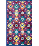 RugStudio presents Loloi Isabelle IS-06 Blue / Multi Machine Woven, Good Quality Area Rug