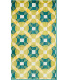 RugStudio presents Loloi Isabelle IS-09 Teal / Multi Machine Woven, Good Quality Area Rug