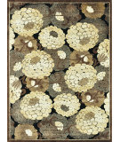 RugStudio presents Loloi Halton HL-01 Black - Beige Machine Woven, Good Quality Area Rug