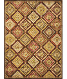 RugStudio presents Loloi Halton HL-02 Brown - Rust Machine Woven, Good Quality Area Rug