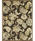 RugStudio presents Loloi Halton HL-03 Chocolate Machine Woven, Good Quality Area Rug