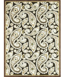 RugStudio presents Loloi Halton HL-08 Dark Brown Machine Woven, Good Quality Area Rug