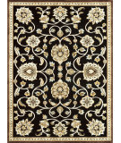 RugStudio presents Loloi Halton HL-09 Black - Gold Machine Woven, Good Quality Area Rug