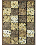RugStudio presents Loloi Halton HL-10 Black - Gold Machine Woven, Good Quality Area Rug