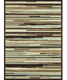 RugStudio presents Loloi Halton HL-13 Blue - Brown Machine Woven, Good Quality Area Rug