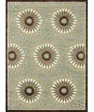 RugStudio presents Loloi Halton HL-17 Gray - Brown Machine Woven, Good Quality Area Rug