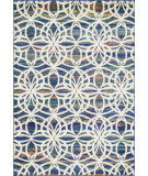 RugStudio presents Loloi Lyon HLZ-11 Blue / Multi Machine Woven, Good Quality Area Rug