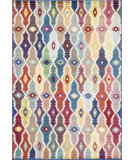 RugStudio presents Loloi Lyon LZ-12 Blue / Multi Machine Woven, Good Quality Area Rug