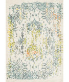 RugStudio presents Loloi Lyon HLZ-14 Ivory / Slate Machine Woven, Good Quality Area Rug