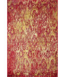 RugStudio presents Rugstudio Sample Sale 93957R Poinsettia Machine Woven, Good Quality Area Rug