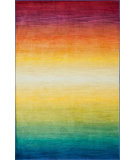 RugStudio presents Loloi Lyon Hlz04 Rainbow Machine Woven, Good Quality Area Rug