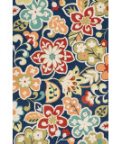RugStudio presents Loloi Olivia OL-05 Blue / Multi Hand-Hooked Area Rug
