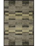 RugStudio presents Loloi Revive Revihri01 Charcoal / Green Machine Woven, Good Quality Area Rug