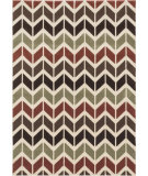 RugStudio presents Loloi Shelton SH-01 Brown / Multi Machine Woven, Better Quality Area Rug